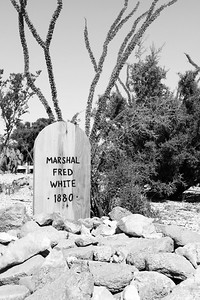 Marshal Fred White Tombstone