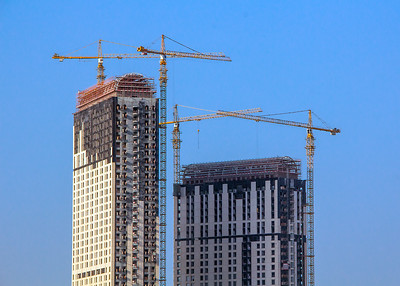 Dubai Hi-Rise Construction