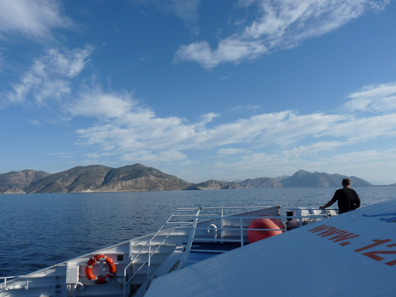 On the ferry to Symi