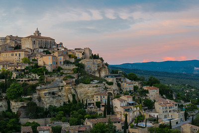 Sunset at Gordes