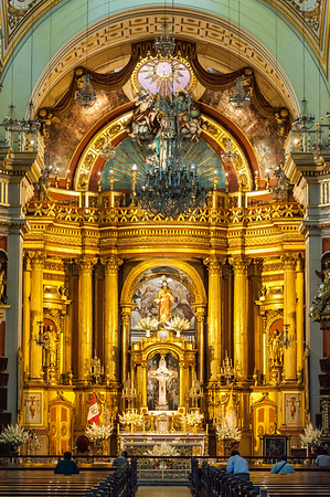 Church of San Pedro - Lima, Peru