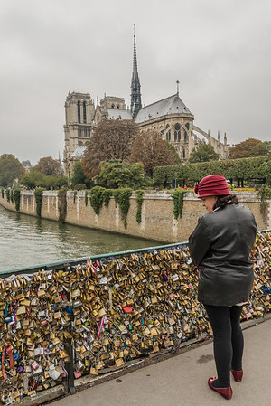 Love Locks in their Final Year on the Bridge