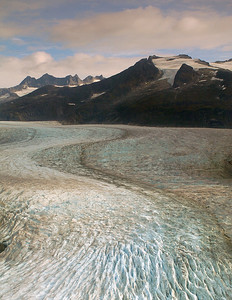 Curving Path of the Mendenhall Glacier