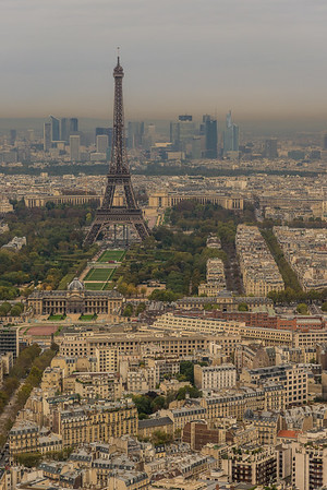 Tour Eiffel from Tour Montparnasse