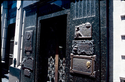tomb of Eva Peron (Evita)