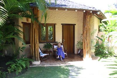 our cottage at Villas de Trancoso in Bahia
