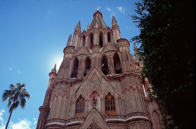 The Parroquia, the parish church of San Miguel