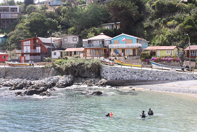 Quintay, an old Chilean whaling village