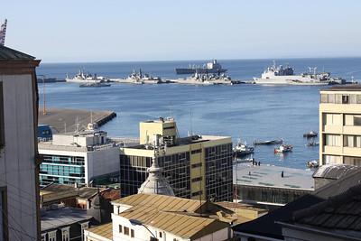 Chilian Navy ships
