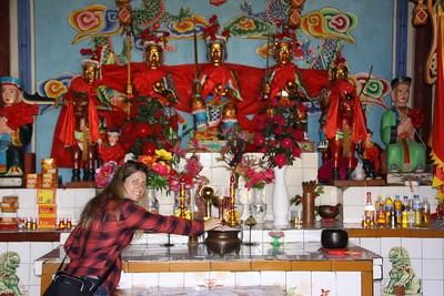 Guan Yin Temple on Jin Suo Island