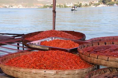 seafood from Er-Hai Lake