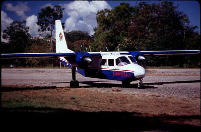 our plane to Quepos