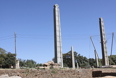 Axum-2nd century 500 ton granite obelisks
