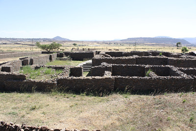 Axum- remains of the palace of the Queen of Sheba from 1000BC