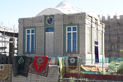 Axum-building holding the Ark of the Covenant. Brought here by Menelik, the son of the Queen of Sheba and King Solomon.