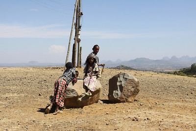 Axum- near border of Eritrea