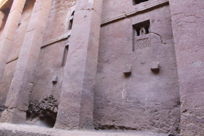 these churches carved from one rock are wonders of the ancient world