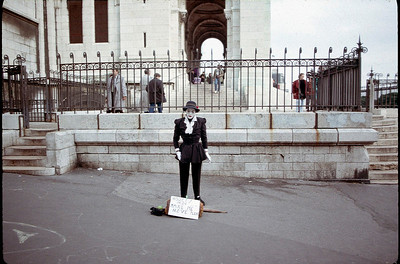 Montmartre mime