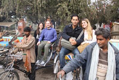 Varanasi rickshaws