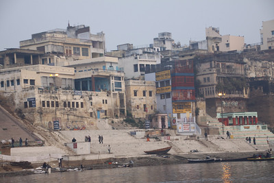 Old Varanasi on the Ganges