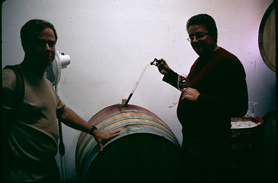 using a thief to barrel taste