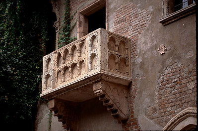Verona balcony of Romeo and Juliet