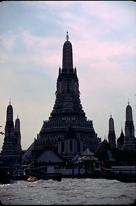 river temple in Bangkok