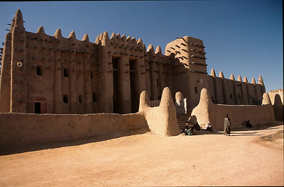 Djenne Mosque (made of mud)