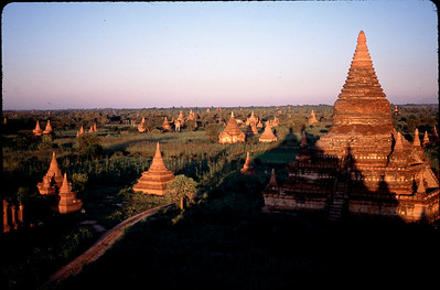 the thousands of temples and shrines of Bagan