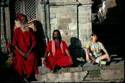 the three Sadhus