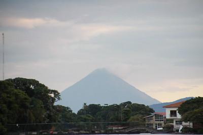 Ometepe volcano island on Lake Nicaragua