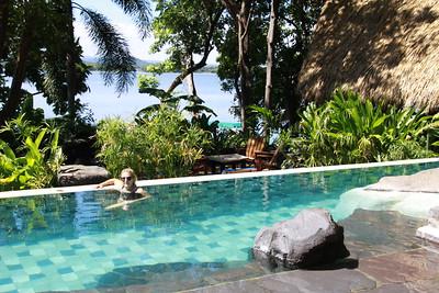 Pool at Jicaro Lodge