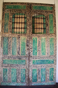 Old colonial doors in Grenada