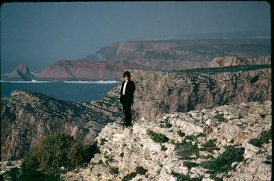 Beth on Portuguese coast