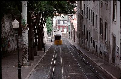 funicular in Lima