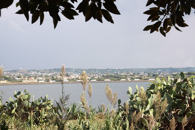 View from the island of Mozia