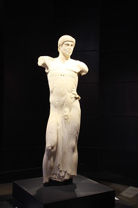 The Youth of Mozia 5th century Greek sculpture