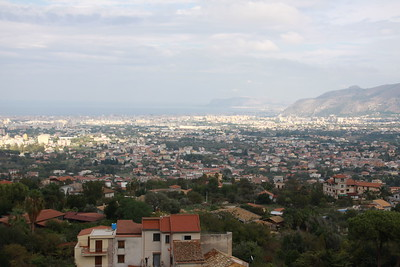View of Palermo from afar
