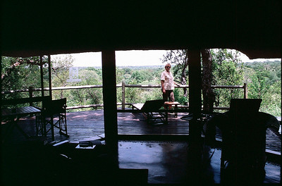 our room at Leopard Hills
