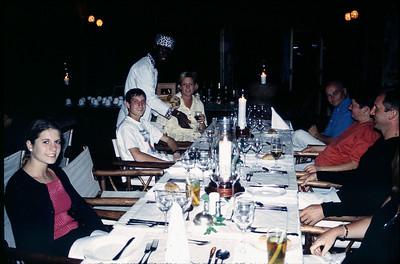 dinner at Leopard Hills
