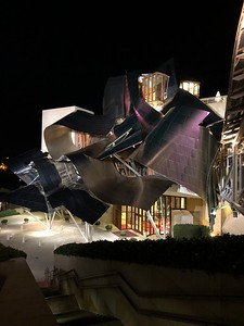 Frank Gehry designed hotel at Marquis de Riscal winery