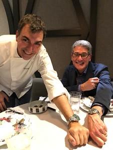 Ramon Freixa has same watch as Tony!