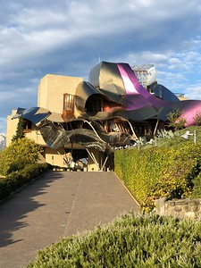 Gehry entrance to Riscal