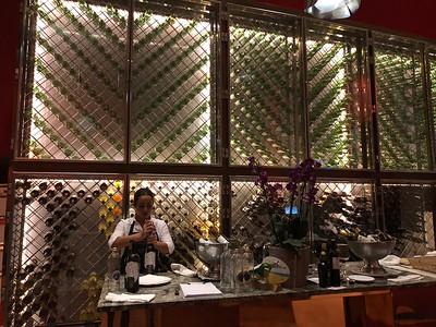 Wine rack in Gastonomique in Riscal