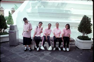 Bangkok school girls