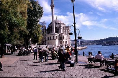 Ortokoy neighborhood of Istanbul