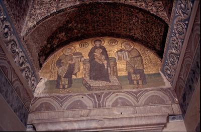 interior of Hagia Sophia (Byzantine Church)