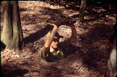 Cu Chi tunnels (from Viet Cong)