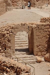 Byzantine Gate, Masada