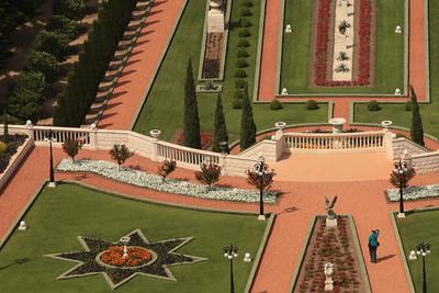 Baha'i Gardens, Mount Carmel, Haifa.
